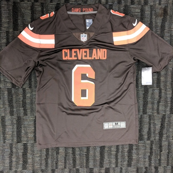 free shipping a4d7c 1891a Cleveland Browns Baker Mayfield Jersey NWT